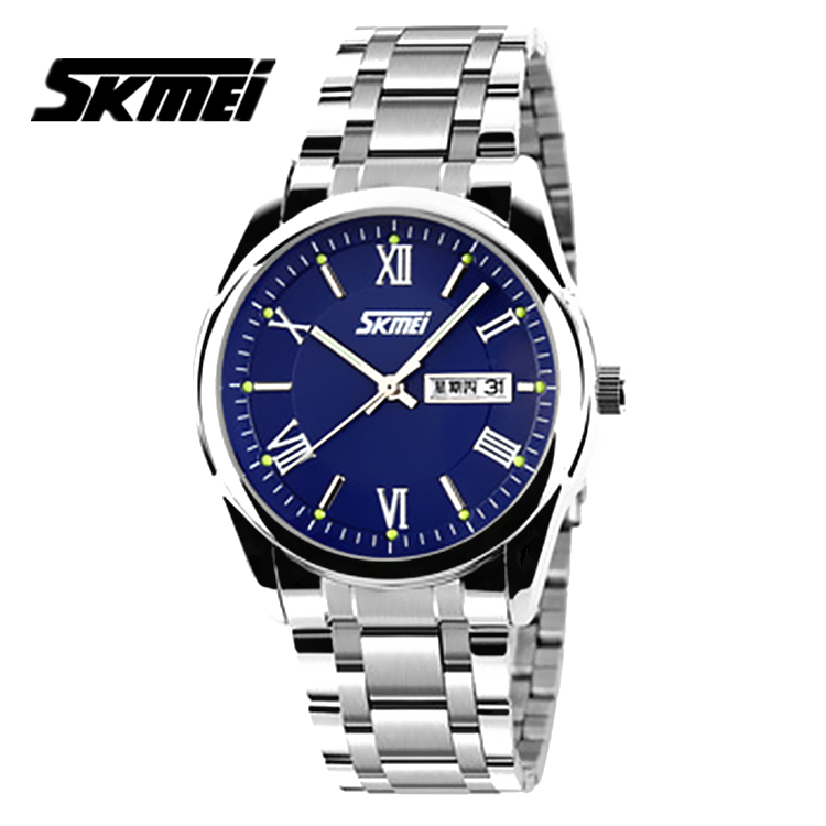 Watches men Skmei luxury brand quartz wristwatch casual Business reloj hombre dive 30m sport Clock relogio masculino 9056