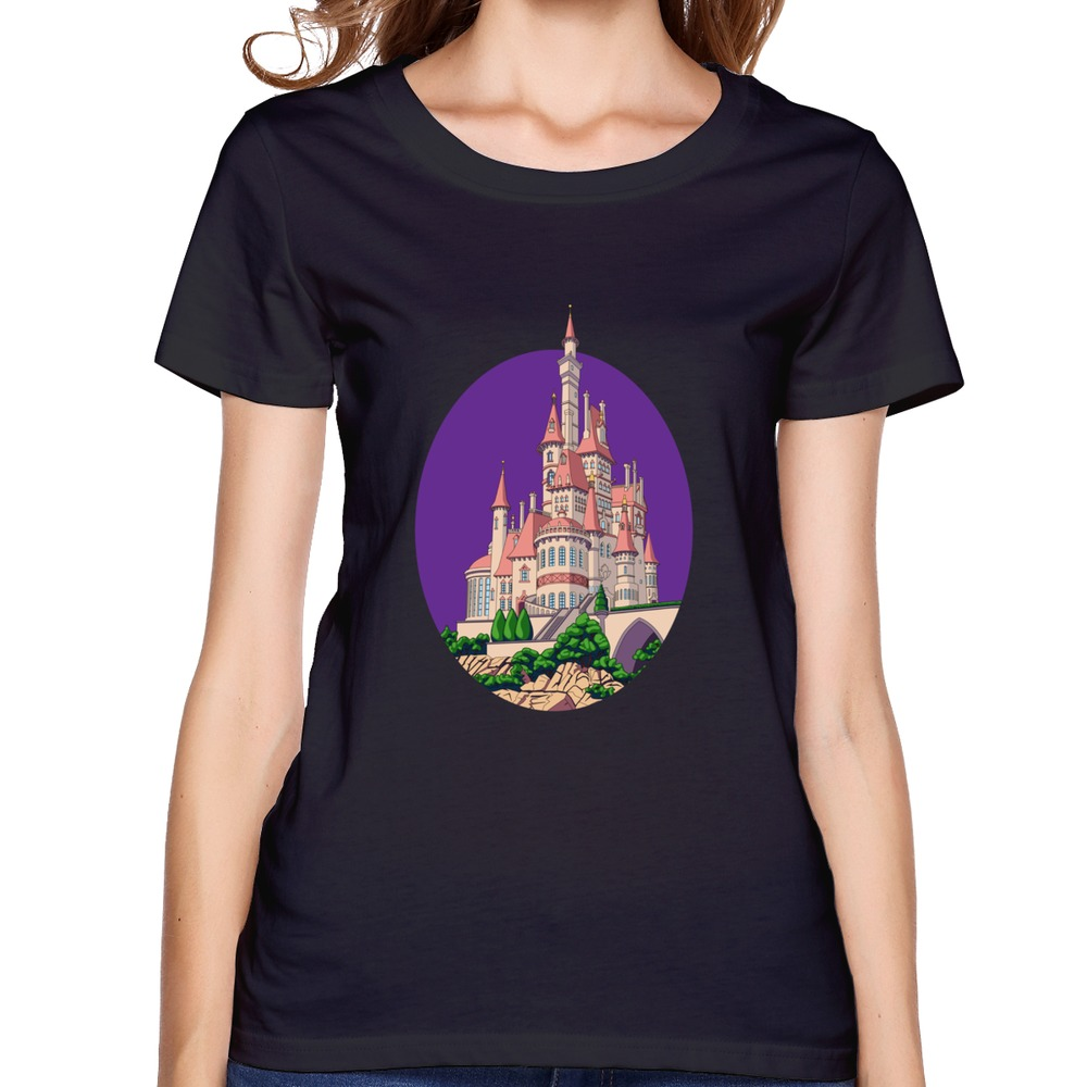 Short sleeve women 39 s t shirt royal palace custom love for Designer tee shirts womens
