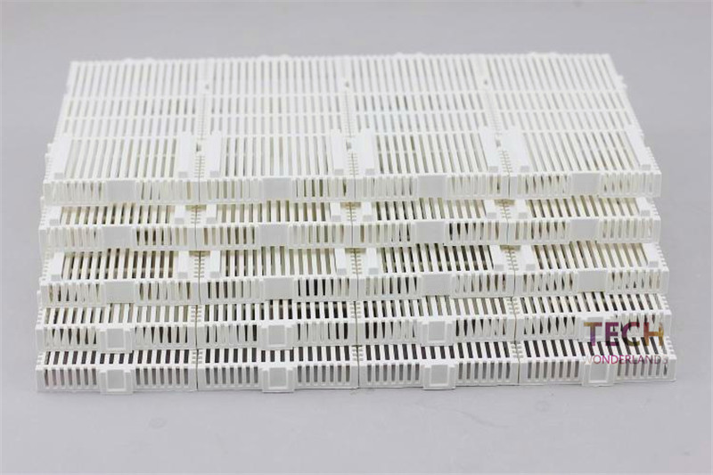 20/24/28/32 Pieces of 14*7*1.5CM White Undergravel Filters Bottom Plates for Aquarium Fish Tank with Extendable Water Pipe(China (Mainland))