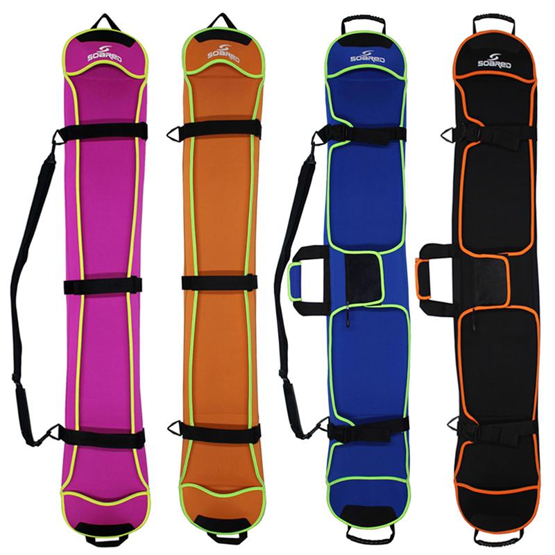 Skiing Snowboard Bag 135-155cm Scratch-Resistant Monoboard Plate Protective Case Dumpling Skin Ski Board Bag 4 Colors(China (Mainland))