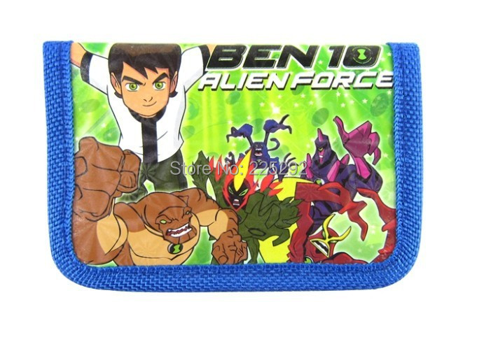 free drop shipping 1pack=12pcs fashion hot boys girls students wallet 3D cartoon ben10 KT Spider-man DORA plane.. zero purse(China (Mainland))