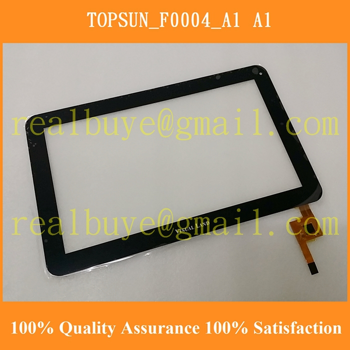 Гаджет   Free shipping TOPSUN_F0004_A1 10.1inch capacitive touch screen digitizer glass for tablet pc mid repair None Компьютер & сеть