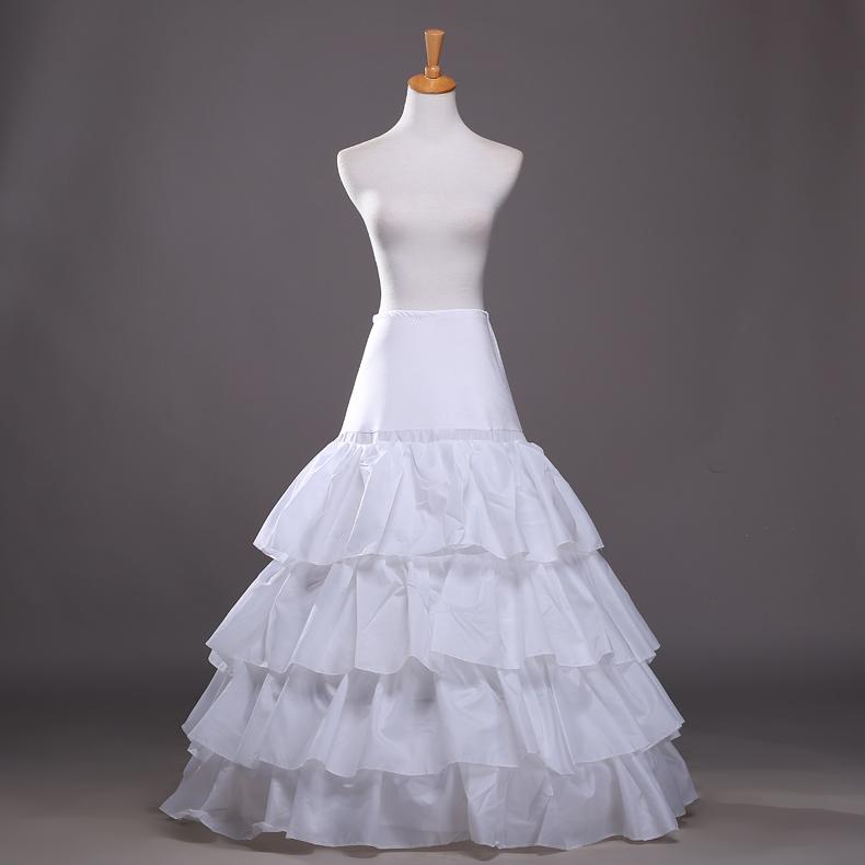Petticoats for wedding dresses wedding dresses asian for Plus size wedding dress petticoat