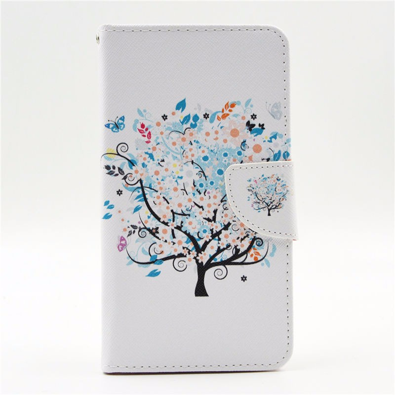 For Samsung Galaxy S5 Mini Case Wallet Leather Flip Card Slot Phone Case For Samsung Galaxy S5 Case Silicone Back Cover Stand