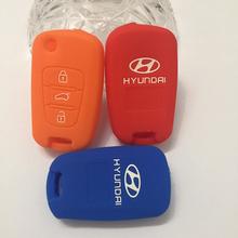 Высокое качество 3 кнопки автомобиль флип оболочки удаленного пустой чехол для Hyundai I30 IX35 с покрытие автомобиля