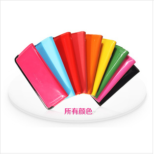 New 2014 Hot Sell Candy Colors Women Wallets PU Leather Purse Cute Wallet Women Free Shipping(China (Mainland))
