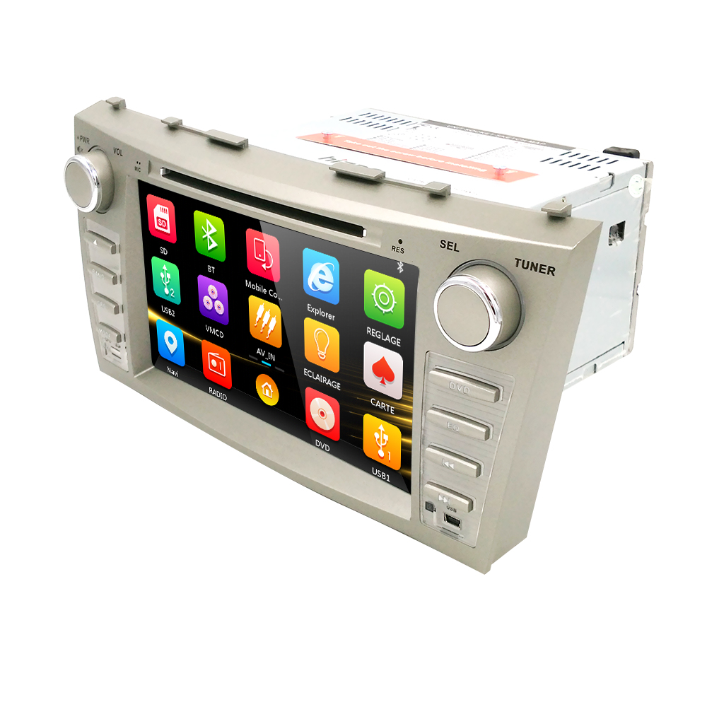 8 inch special Car DVD Player for Toyota Camry Double Din CAR DVD Player Radio / GPS Navigation / Bluetooth / AUX(China (Mainland))