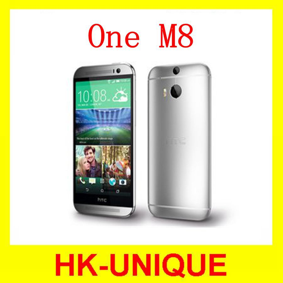 Original Unlocked HTC One M8 Andriod Smartphone Quad Core 4G LTE Network 2GB RAM 16GB Storage