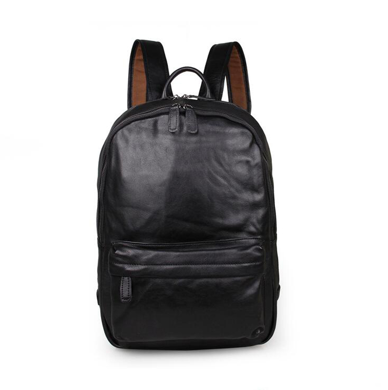The new 2015 school bags leather backpack College student backpack style restoring ancient ways of England Laptop Backpack