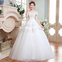 LC491 2016 Spring Summer Fall Winter Wedding Dress New bride wedding dresses(China (Mainland))