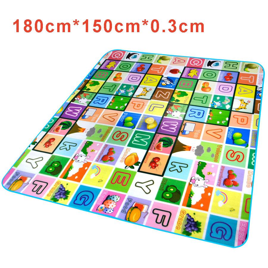 Baby Floor Mat Playing Blanket For Kids Dancing Carpet Children Educational Letter Alphabet Rug Playmat Play Mat Carpet Infant(China (Mainland))