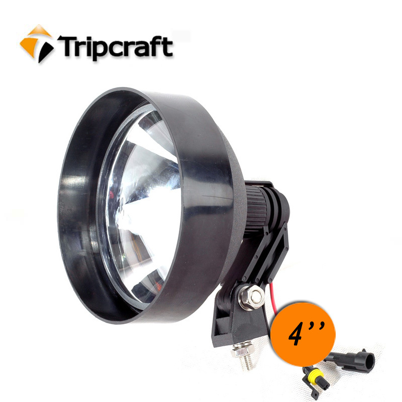 HOT SALE! 4Inch 55W HID SEARCH LAMP 12V Camping Light Hid Portable Hid Search Light Spotlight