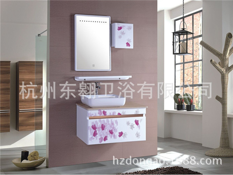 Stock sale Supply pvc bathroom cabinet oak bathroom cabinet rapid delivery of high-quality bathroom cabinet DA(China (Mainland))