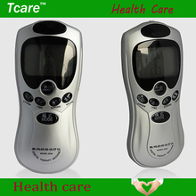 1Set Heath care Blue Screen LCD digital acupuncture meridian therapy instrument massage cervical Silver treatment instrument(China (Mainland))