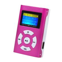 Factory Price USB Mini MP3 Player LCD Screen Support 32GB Micro SD TF Card 51108