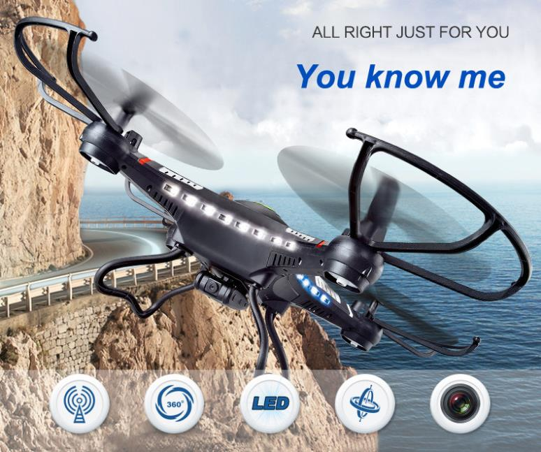 JJRC H8C RC Drone Quadcopter DFD 2.4G RC Helicopter Air Plane 6-Axis GYRO With 2.0MP HD Camera LED Remote control Toys(China (Mainland))