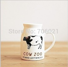 Europe and United States Hot Sell Fashion Creative Lovely Couple Mug Cup Coffee Cup Zakka Creative