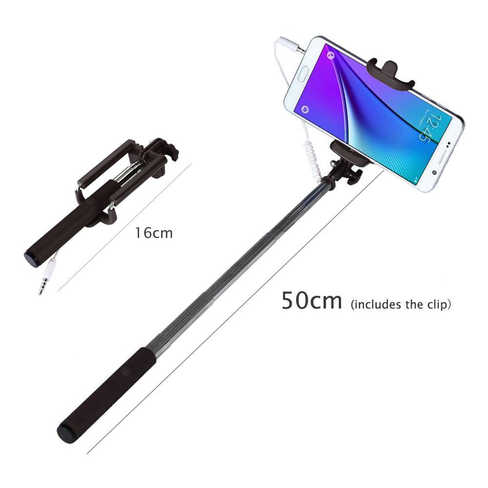 image for Remote Button Bluetooth Selfie Stick Universal Wireless Para Selfie Mo