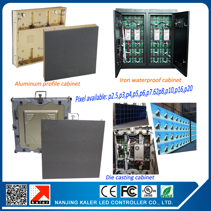 P6 outdoor full color led display SMD outdoor p6 led modules 0.576*0.576m die-cast aluminum waterproof rental led display board(China (Mainland))