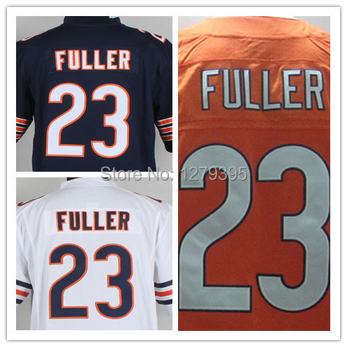 Cheap Rugby #23 Kyle Fuller Jersey Team Color Navy Blue Orange Number White Elite/Game/Limited Stitched Men's Football Jerseys(China (Mainland))