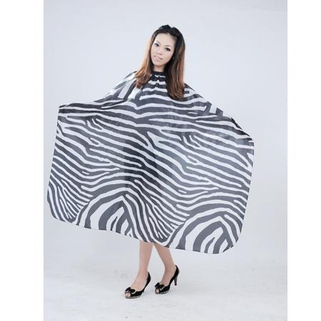 free shipping professional salon adult zebra hair cutting cape apron waterproof anti-static 128*145cm 5pcs/lot<br><br>Aliexpress