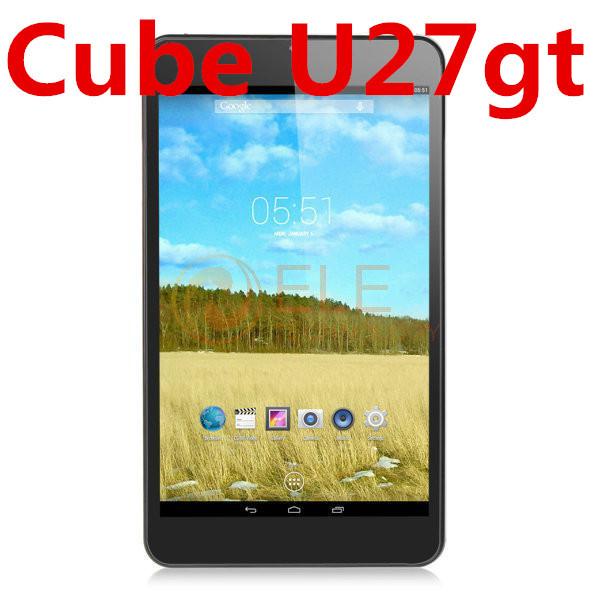 8 inch IPS Cube Talk 8x U27gt 3G MTK8392 Octa core 1GB+8GB Camera Bluetooth GPS 3G phone call android 4.4 Cube Talk8h talk 8(China (Mainland))