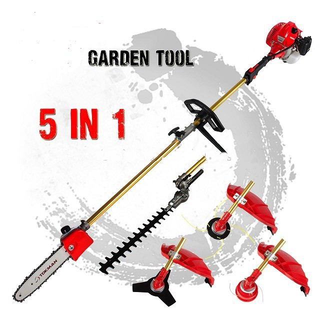 Professional garden tools trimmer cutter brush cutter 5 1 for Professional gardening tools