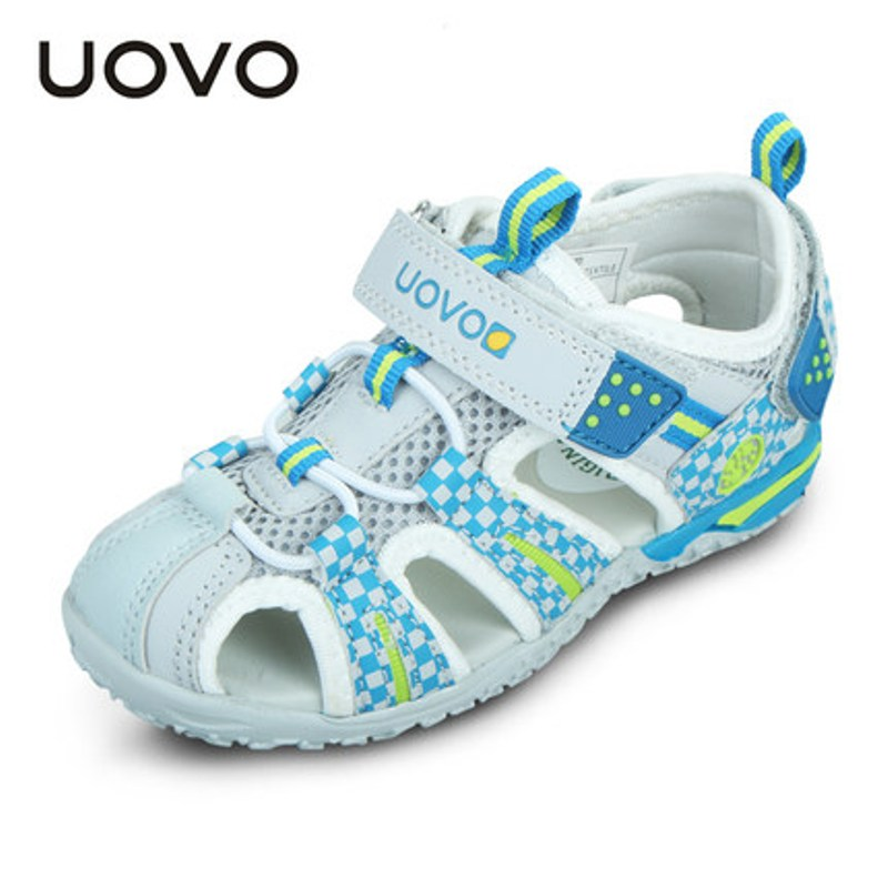 Uovo New Big Toddler Boys Girls Sandals EU26-36 Summer Beach Shoes High Quality Brand Kids Sandalet Slippers Zapatillas Mocassin
