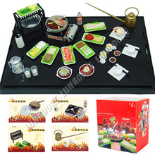 13 Types of ORCARA Japanese Food Miniature Dollhouse 1:12 Plastic Kitchen Re-ment Size Set of 8 Dolls Accessories(China (Mainland))