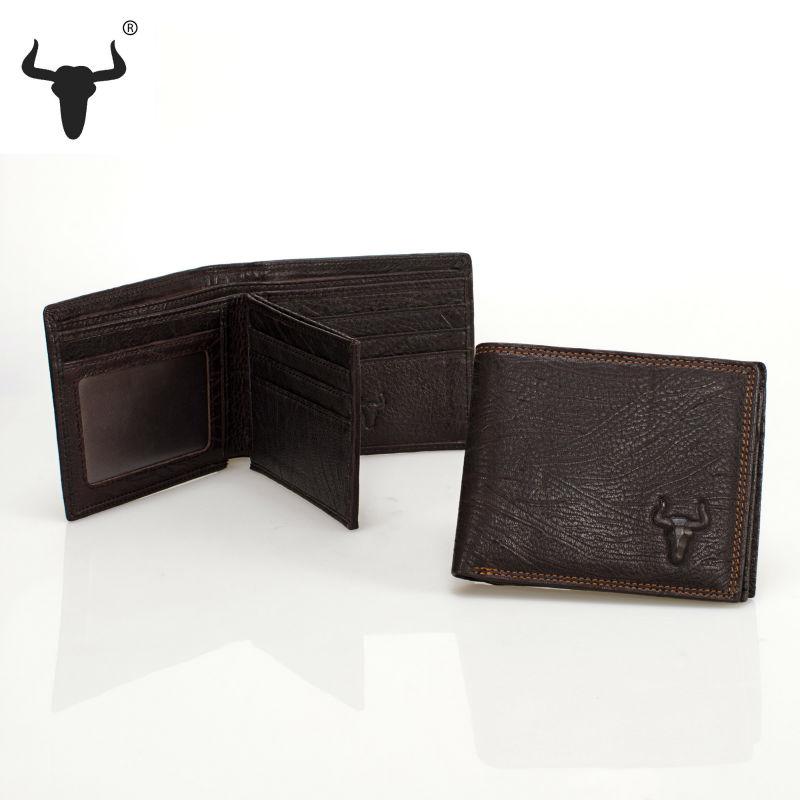 The 2016 New Fashion Genuine Leather Men Wallet Manual Scratch Pattern Lightning Original Designer High Quality Famous Brand(China (Mainland))