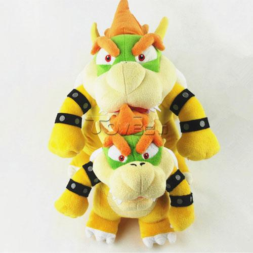 Game Super Mario Bros 25cm Bowser Koopa Dragon Plush Toy Soft Stuffed Doll(China (Mainland))