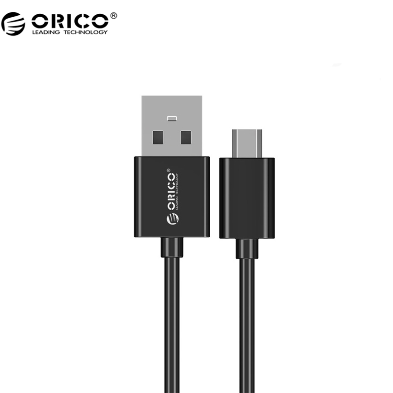 ORICO ADC Hot Sale USB Cable 50/80/100/200 CM Micro USB 2.0 Charging Data Cable For Smartphone - Black/White(China (Mainland))