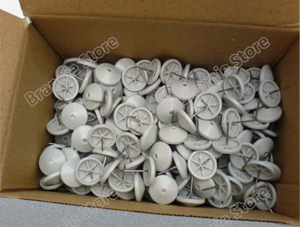 16mm/19mm eas security tag pin\ pins for eas super hard tags grooved dhl free shipping 1000pcs/lot(China (Mainland))