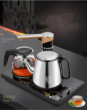 Intelligent Automatic water-feeding Electric kettle suit/Electric tea stove/stainless steel heating boilers insulation tea pot(China (Mainland))