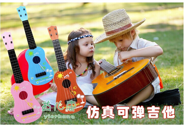 Piano Infantil Infant Set Kids Toys Musical Toy Children Guitar Music Instruments/guitar Puzzle/color Box Packaging Development(China (Mainland))