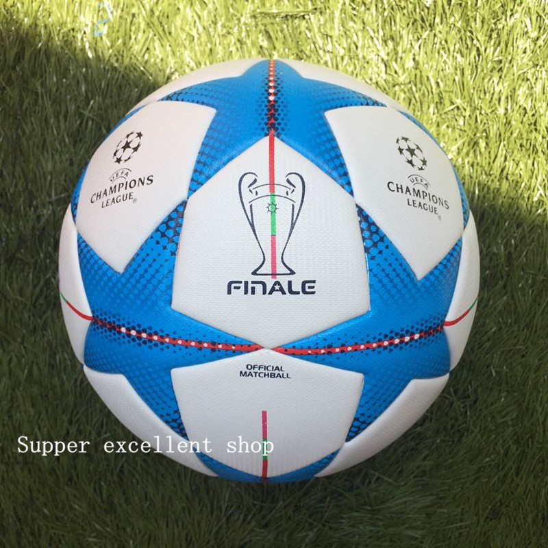 2012-2016 season Champion league ball Final Berlin soccer ball High Quality football  Free shipping PU size 5  futball for match(China (Mainland))