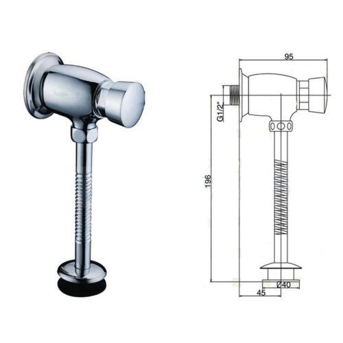 Купить Туалет писсуар сливной клапан латунь тип задержки автоматический запорный клапан 11 - 190
