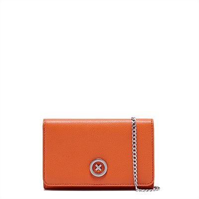 FREESHIPPING MIMCO SUPERSONICA ORANGE COLOR  CHIAN WALLET<br><br>Aliexpress