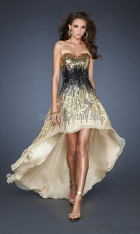 Black And Gold Dress Photo Album - Reikian