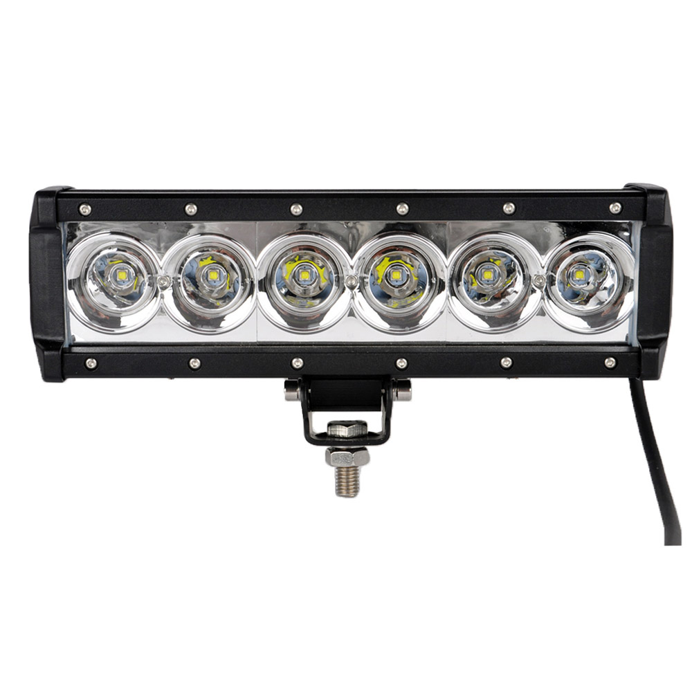 1pc 10.4inch 60W 6000K Single Row Cree LED Work Lamp Spot Beam Car Truck Boat LED Light for SUV Jeep Hunting/Searching/Fishing(China (Mainland))