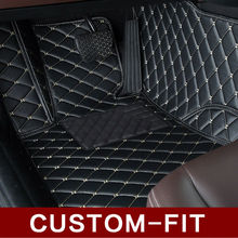 Custom fit car floor mats for Toyota Land Cruiser 200 Highlander Camry 3D special car-styling carpet rugs liners(2007-present)(China (Mainland))