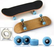 Nuovo professionale acero legno dito skateboard nickel stent in lega ruota cuscinetto fingerboard adulto novità articoli per bambini giocattoli(China (Mainland))