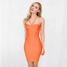 Spaghetti Strap Bandage Dresses 2016 Summer New Women Backless Party HL - Deer Lady store