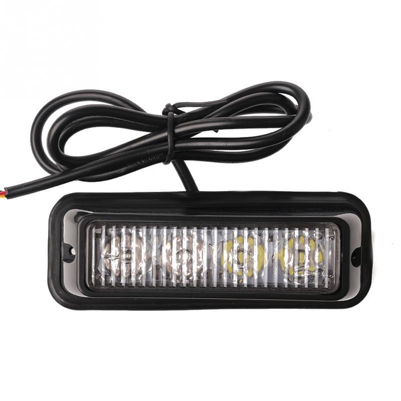 4LED Highlight Truck Strobe Flash Light Cross-country Network Warning In the Light Emergency(China (Mainland))