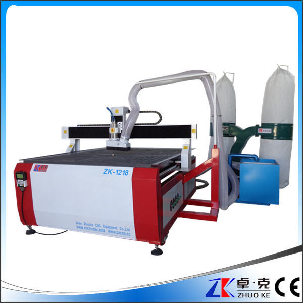 hot new products with dust collector ,vacuum pump woodworking cnc router machine 1218 1200*1800*150mm(China (Mainland))