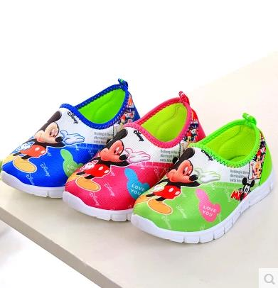 childrens shoes girls female sport baby toddlers fashion cartoon shoes chaussure enfants fille kids roshe runs 258(China (Mainland))