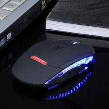 Buy Malloom 2017 LED Ajustable 1200 1600 DPI 4 Keys 2.4Ghz Optical Wireless Mouse gamer sem fio Mice USB For Laptop PC Computer for $6.08 in AliExpress store