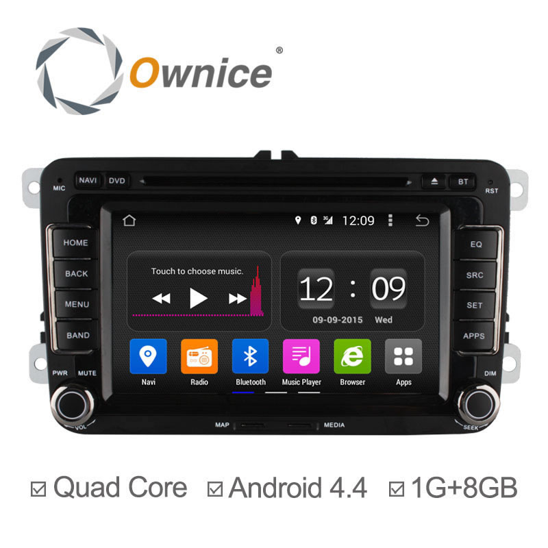 Здесь можно купить  Ownice C180 Quad Core Android 4.4 Car DVD GPS Navigation Radio Player For VW Golf Polo Bora CC Jetta Passat Tiguan Skoda Caddy  Автомобили и Мотоциклы