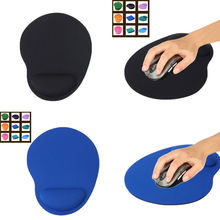 1pcs Mouse Pad Comfort Wrist Gel Thicken Support For Optical/Trackball Mat Mice Pad Free shipping & Drop shipping 23*18 cm(China (Mainland))