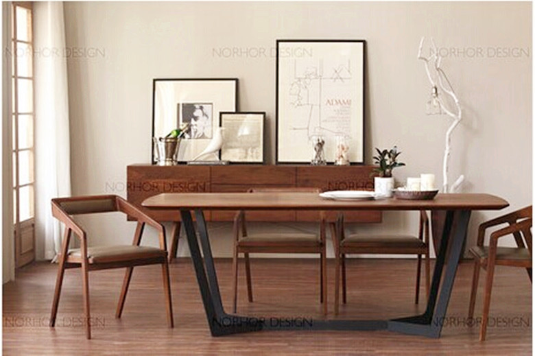 american country wood dining table wrought iron wood small